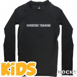 Детский рашгард Hardcore Training Black