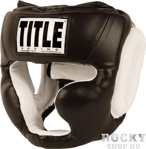 Шлем для тайского бокса Title Gel World Full-Face, L TITLEЭкипировка для тайского бокса<br>Эксклюзивная спецтехнология Gel Enforced Lining™ делает данный шлем необходимой частью экипировки!Дополнительный гелевый слой и многослойный пенистый наполнитель создали непробиваемую комбинацию удобства и превосходной амортизации ударов. Полностью подбитые зоны лба, щек, ушей и затылка специально спроектированы для оптимального баланса между защитой и удобством ношения. В то же в ходе, оригинальный дизайн позволяет с безболезненностью снимать и одевать шлем, что делает его одним из самых востребованных на рынке! Шлем сделан из высококачественной 100% кожи и целиком защищает лицо и подбородок. Удобная застежка на липучке вместе с эластичным верхом позволяют кастомизировать его под необходимый размер.<br>