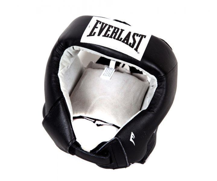 Шлем боксерский Everlast USA Boxing, S EverlastБоксерские шлемы<br>Шлем для любительских соревнований. Изготовлен из первоклассной кожи, внутр. Часть отделана замшей. Использован 4х слойный пенистый наполнитель. Является официальной экипировкой USA Boxing.<br><br>Цвет: Черный