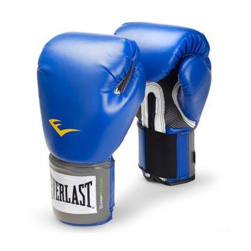 Перчатки боксерские Everlast PU Pro, 12 OZ EverlastБоксерские перчатки<br>Высококачественная искусственная кожа совместно с оптимальным дизайном обеспечивают износостойкость и функциональность перчаток. Мелкая перфорация по всей ладони позволяет коже дышать. Антибактериальная пропитка убивает нехороший запах и бактерии. Превосходно облегают кисть, следуя всем анатомическим изгибам ладони и предплечья. Отличный вариант для начинающих спортсменов!<br><br>Цвет: Черный