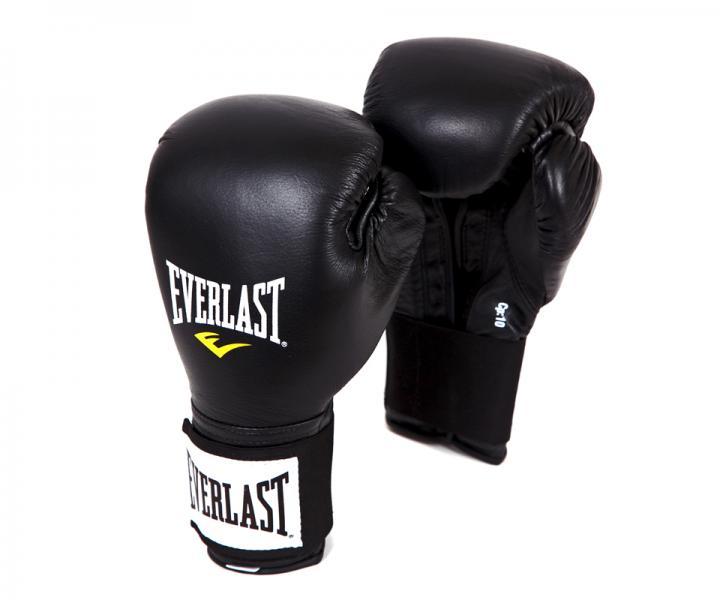 Перчатки боксерские Everlast Pro Level, 12 OZ EverlastБоксерские перчатки<br>Самые популярные боксерские перчатки от Everlast.Изготовлены из натуральной кожи премиального класса.Запястье на эластичной липучке, что позволяет надежно зафиксировать руку.Вентиляционные отверстия для охлаждения.Максимально функциональная форма перчатки.<br>