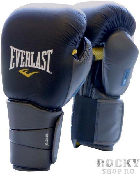 Перчатки боксерские Everlast Gel Protex3, 14 OZ EverlastБоксерские перчатки<br>Изготовлены из 100% кожи. Высокотехнологичные перчатки. Пенный наполнитель с системами C4™ Foam и EverGel™ гарантирует высочайший уровень защиты рук спортсмена, как при спарринге так и при работе на мешках. Усиленная защита и стабилизация предплечья. Использованы комплексы THUMBLOK™, EverCool™ &amp; EverDri™. В комплекте гибкий рукав для дополнительной защиты запястья.<br><br>Размер: LXL