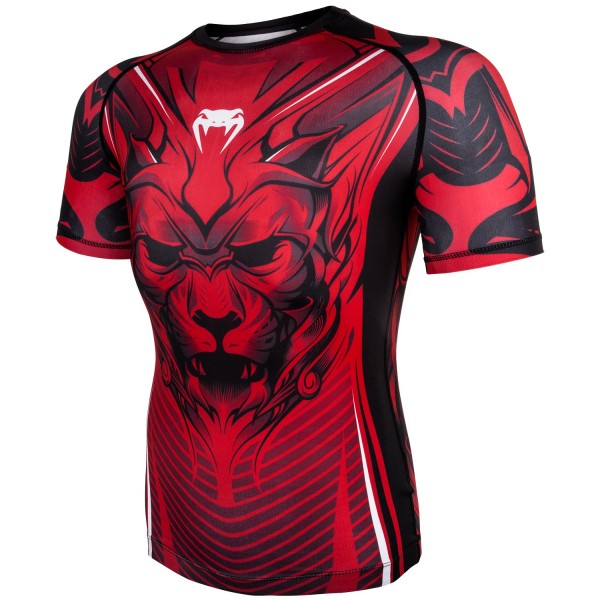 Рашгард Venum Bloody Roar Black/Red S/S