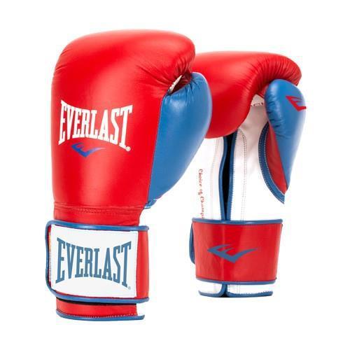 Купить Перчатки тренировочные Everlast Powerlock, синтетическая кожа 10 oz (арт. 21263)
