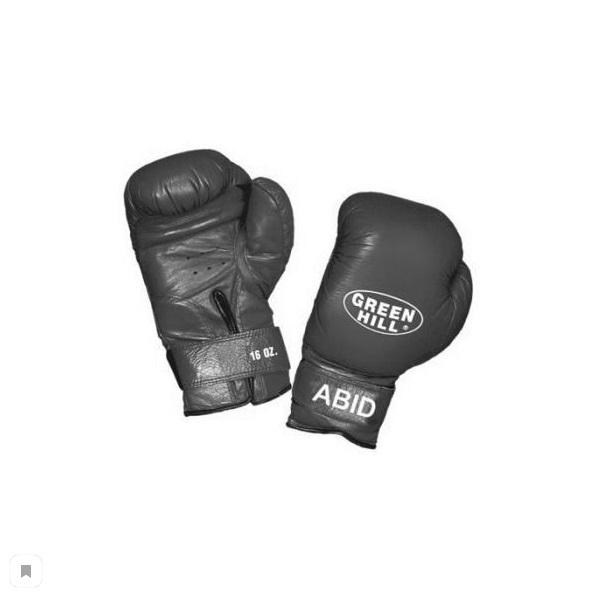 Перчатки боксерские ABID, 16 унций Green HillБоксерские перчатки<br>&amp;lt;p&amp;gt;Преимущества:&amp;lt;/p&amp;gt;    &amp;lt;li&amp;gt;Подходят для детских и юношеских боксёрских школ&amp;lt;/li&amp;gt;<br>    &amp;lt;li&amp;gt;За счёт сверхмягкого наполнителя фактически не наносят травм&amp;lt;/li&amp;gt;<br>    &amp;lt;li&amp;gt;Материал - 100% кожа&amp;lt;/li&amp;gt;<br>    &amp;lt;li&amp;gt;Смягчающая вставка в районе запястья&amp;lt;/li&amp;gt;<br>    &amp;lt;li&amp;gt;Удобная застёжка-липучка&amp;lt;/li&amp;gt;<br>