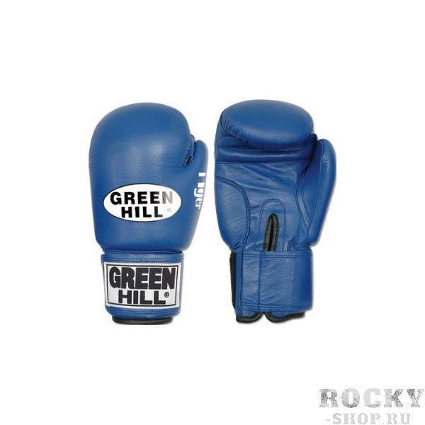 Перчатки боксерские tiger, 10 унций Green HillБоксерские перчатки<br>Верх из 100% кожи<br> Внутреннее наполнение из сфомированного пенополиуретана<br> Манжет липучка<br><br>Цвет: Красный