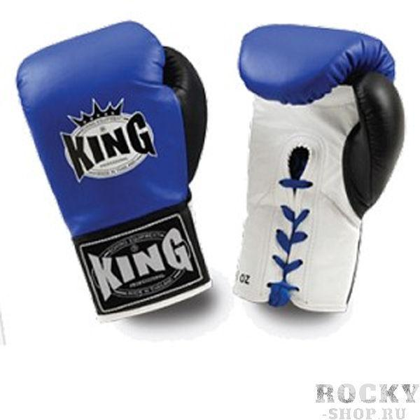 Перчатки боксерские соревновательные, шнурки, 8 OZ KingБоксерские перчатки<br>Профессиональные боксерские перчатки для боев <br><br> Материал – высококачественна кожа<br> Фиксация запястий – шнурки<br><br>Цвет: Красный