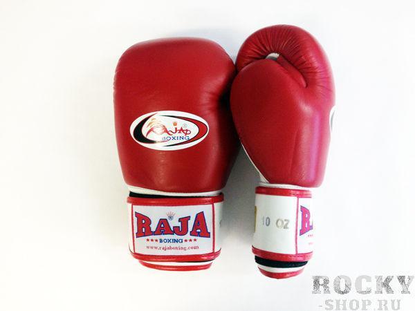 Перчатки боксерские тренировочные, липучка, 10 унций RajaБоксерские перчатки<br>Профессиональные перчатки. <br> Предназначены для более начальных боев Муай Тай или интернациональных боев. <br> Перчатки безупречно годятся для учебы.<br><br>Цвет: красный/белый