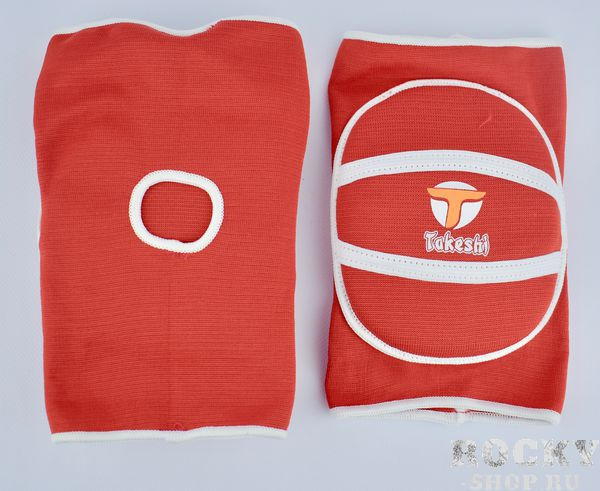 Детские наколенники Takeshi Fight Gear Red