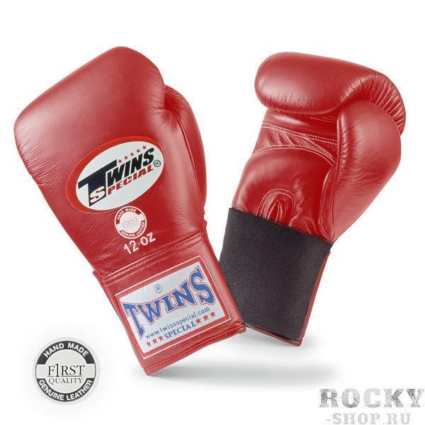 Перчатки боксерские тренировочные на резинке, 14 унций Twins SpecialБоксерские перчатки<br>Материал – 100% кожа наивысшего качества<br> Крепление - резинка<br> Идеальное соотношение цена – качество<br> Ручная работа<br><br>Цвет: Красный