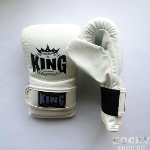Перчатки снарядные, липучка, Размер M KingCнарядные перчатки<br>Фиксация предплечья – липучка<br> Легко одеть и просто снять<br> Кожаэкстра класса<br> Многослойный упругий материал<br><br>Цвет: Белый