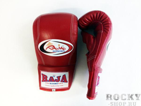 Перчатки снарядные, резинка, Размер M RajaCнарядные перчатки<br>Снарядные перчатки для проработки с мешками. <br> Сделаны из первоклассной 100% кожи. <br> Предлагают Вам удобство и защиту ваших рук с емким диапазоном расцветок комбинаций.<br><br>Цвет: красный