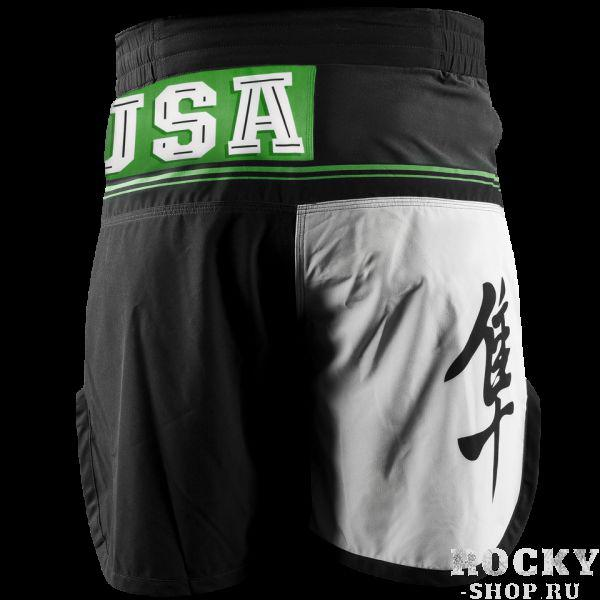 Шорты ММА Hayabusa Flex Factor Training Shorts Green/Black