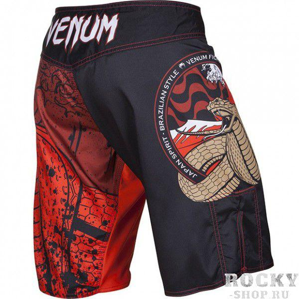 "Шорты Venum ""Crimson Viper"" Fightshorts - Black"