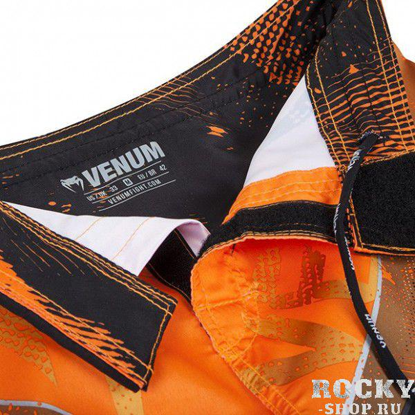 "Шорты Venum ""Galactic"" Fightshorts Neo Orange"
