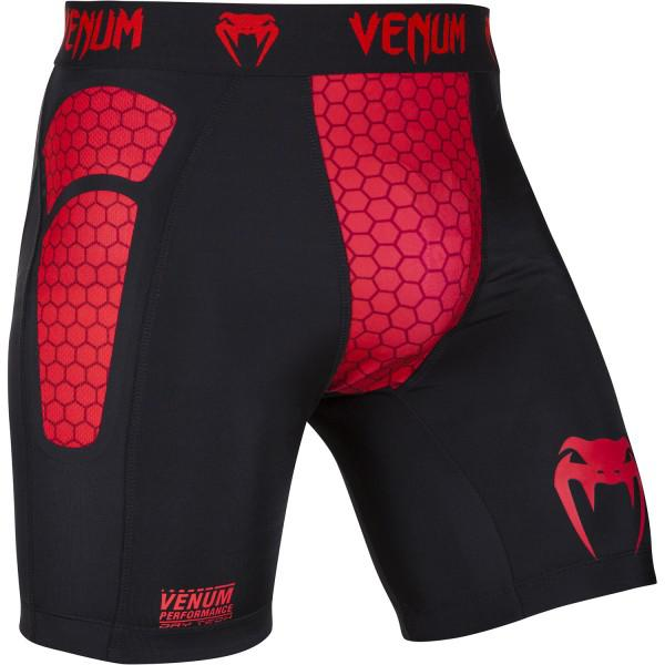 Компрессионные шорты Venum «Absolute» Compression Shorts - Black/Red