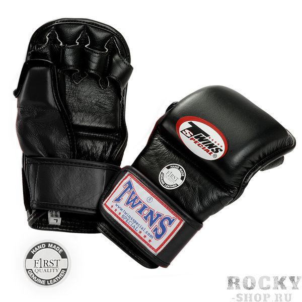 Перчатки ММА на липучке, Размер M Twins SpecialПерчатки MMA<br>Подходят для занятий спортом и спарингов в стиле MMA<br> Ручная работа<br> Натуральная кожа наивысшего качества<br> Наполнитель из плотной пены,<br> Открытая ладонь<br><br>Цвет: Черный