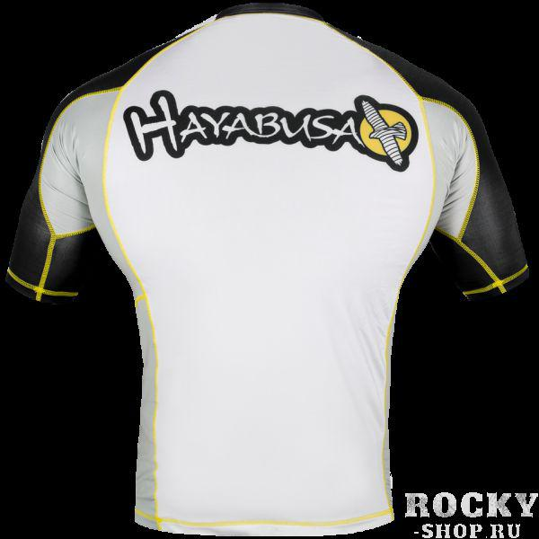 Рашгард Hayabusa Ninja Falcon Rashguard Short Sleeve - Black / Yellow