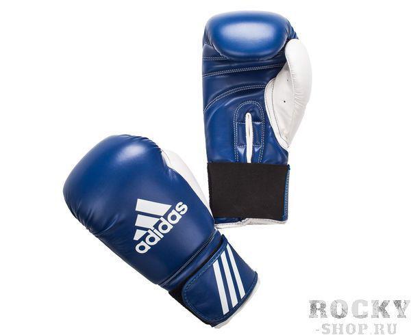Перчатки боксерские Response, 8 унций AdidasБоксерские перчатки<br>Перчатки боксерские adidas Response розовые. Тренировочные боксерские перчатки на липучке. Полиуретан по технологии PU3G INNOVATION. Композитный литой вкладыш из пены высокого давления. Усиленная защита большого пальца, ладони, уcиление ударной зоны. Специальная жесткая манжета для защиты кисти.<br><br>Цвет: сине-белые