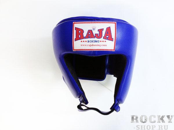 Боксёрский шлем соревновательный, Размер S RajaБоксерские шлемы<br>Идеально годится для соревнований  Отличная защита щек и подбородка<br><br>Цвет: синий