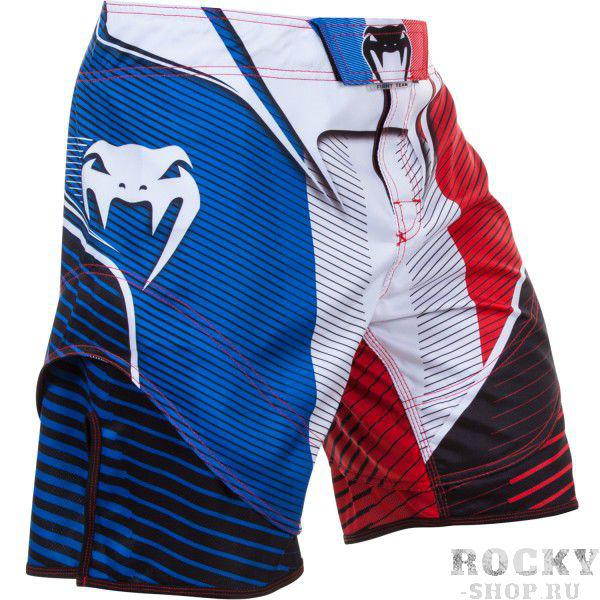 Шорты ММА Venum French Hero Fight Shorts Blue/Red/White