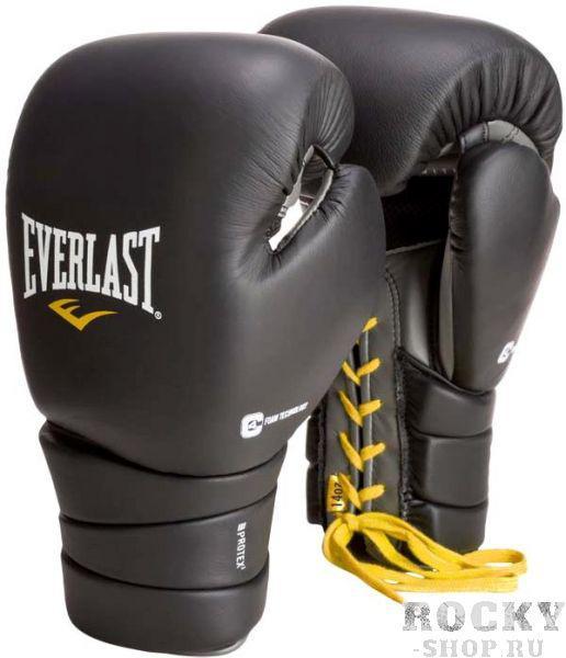 Купить Перчатки боксерские Everlast Protex3, шнуровка 16 oz (арт. 4741)