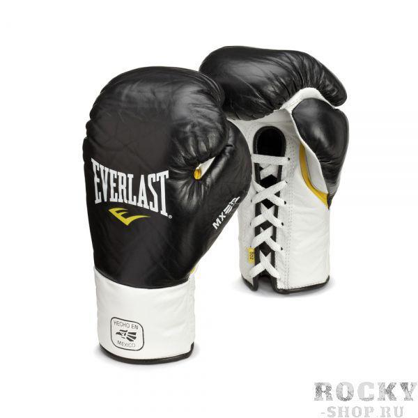 Перчатки боксерские Everlast боевые MX Pro Fight, 10 OZ XL Everlast фото