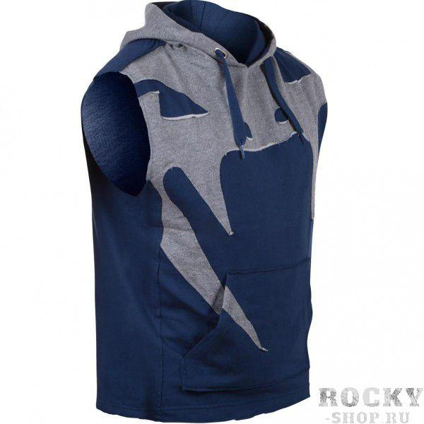 Толстовка без рукавов Venum Attack Sleeveless Hoody - Lite Series - All Seasons Navy Blue