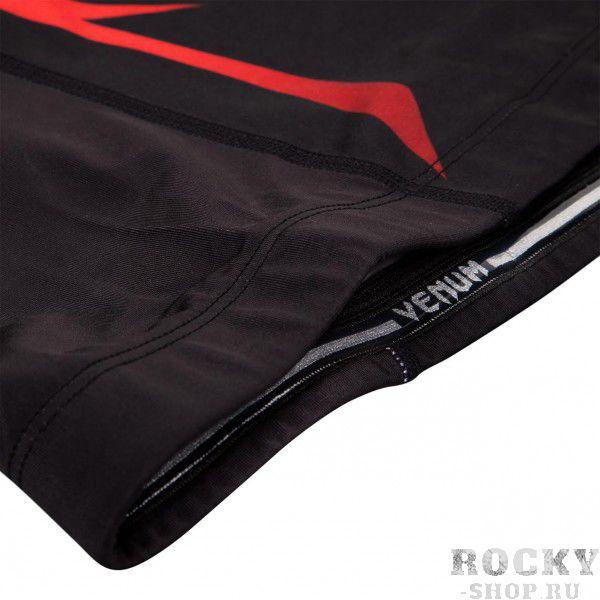 Рашгард Venum Shadow Hunter Rashguard - Black/Red - Long Sleeves