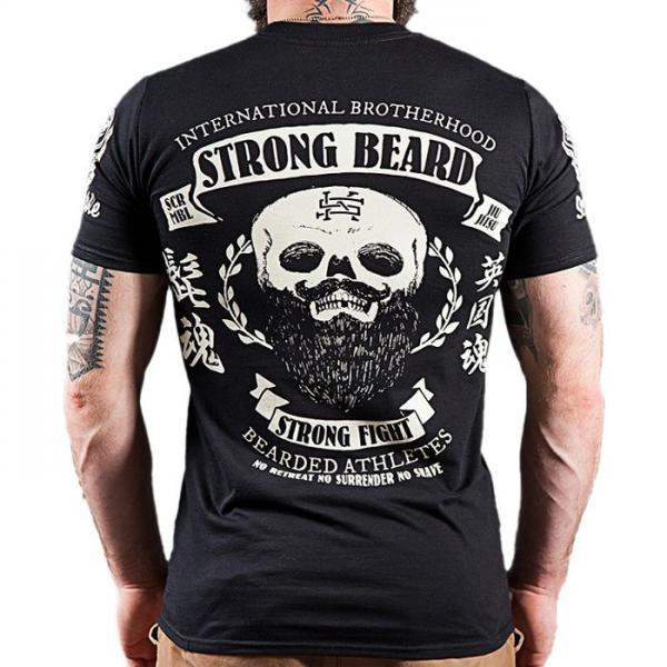 Футболка scramble strong beard