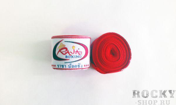 Боксёрские бинты Raja, 2.5 метра, 2,5 метра RajaБоксерские бинты<br>Изготовлены из 100% хлопка. Длина 2,5 метров <br> Удобство крепления<br> Эксклюзивное качество<br> Длинна 2,5 метров<br> Материал - хлопок<br><br>Цвет: красный