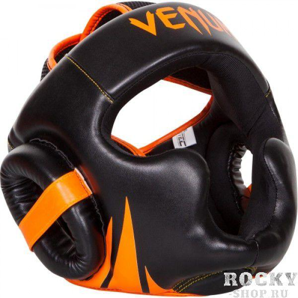Шлем боксерский Venum Challenger 2.0 - Neo Orange/Black