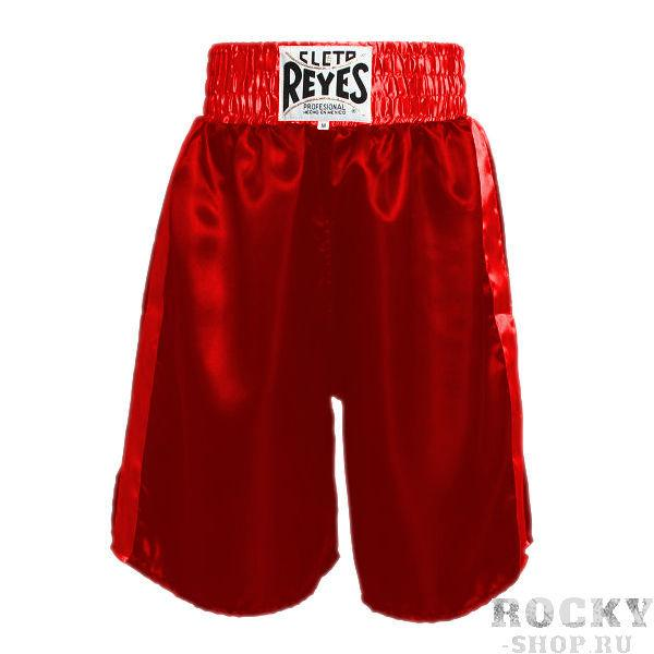 Боксерские шорты Cleto Reyes, Размер L Cleto ReyesШорты для бокса<br>Сделаны из первоклассного сатина и полиэстера<br> Разрез штанины и комфортные строчки позволяют повысить подвижность и свободу движений<br> Эластичная резинка обеспечит вам удобство во в ходе боя<br><br>Цвет: Красный