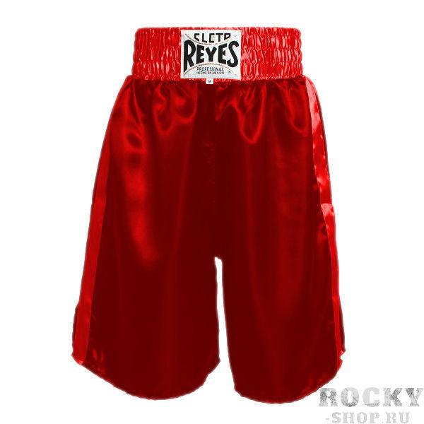 Боксерские шорты Cleto Reyes, Размер XL Cleto ReyesШорты для бокса<br>Сделаны из первоклассного сатина и полиэстера<br> Разрез штанины и комфортные строчки позволяют повысить подвижность и свободу движений<br> Эластичная резинка обеспечит вам удобство во в ходе боя<br><br>Цвет: Красный
