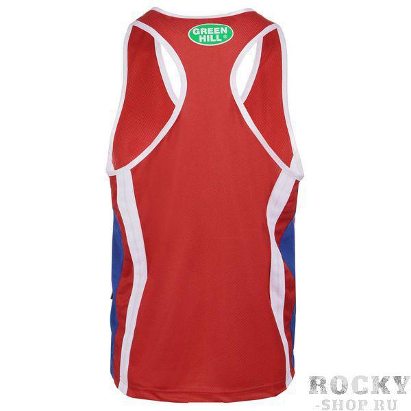 Майка боксёрская CLUB, Красный Green HillБоксерские майки<br>100% полиэстер<br> Разнообразие расцветок и размеров<br> Классический крой<br><br>Цвет: XL