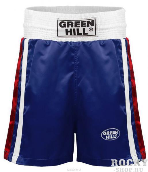 Купить Шорты для бокса Green Hill OLIMPIC синие (арт. 642)