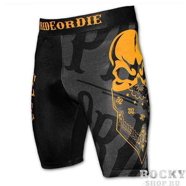 Шорты Валетудо PRiDEorDiE Reckless Black Grey