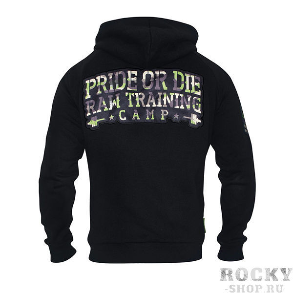 Толстовка Pride or Die RAW Training Camp Jungle Camo