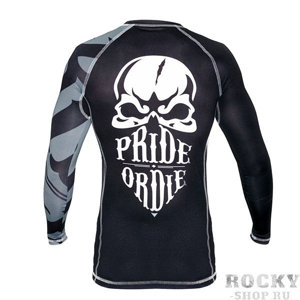 Рашгард PRiDEorDiE Reckless Black White Edition