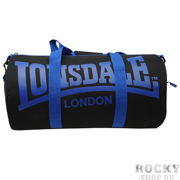Спортивная сумка Lonsdale Barrel Black Blue