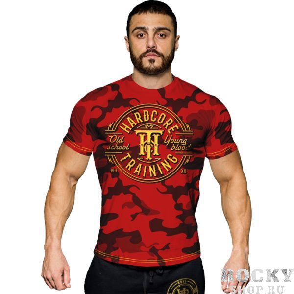 Футболка Hardcore Training Camo