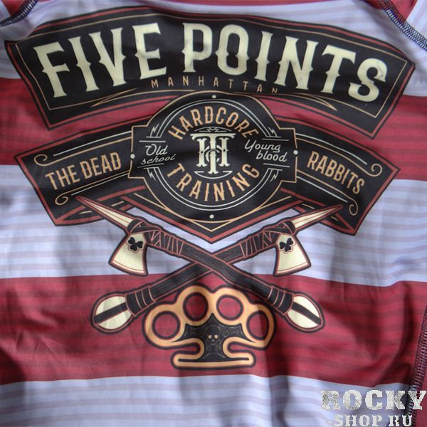 Рашгард Hardcore Training Five Points