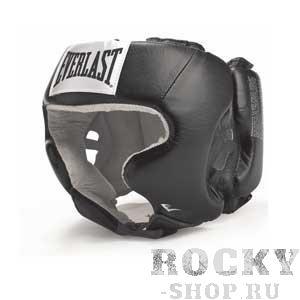 Шлем боксерский Everlast USA Boxing с защитой щек, M EverlastБоксерские шлемы<br>Everlast USA Headgear with Cheek Protection - боксерский шлем, разработанный для выступления на любительских состязаниях и одобрен ассоциацией USA Boxing. Плотный четырехслойный пенистый наполнитель отлично смягчает удары и намного снижает риск травмы. Качественная 100% кожа (снаружи) и не менее качественная замша (внутри) обеспечивают ощутительный запас прочности и отличную долговечность. Подгонка под необходимый размер и фиксирование на голове происходят за счет высокопрочной застежки на липучке.Если вы еще ищите шлем для предстоящих соревнований, то USA Headgear with Cheek Protection - это ваш выбор!<br>