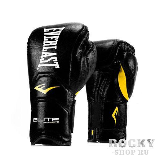 Купить Перчатки тренировочные Everlast Elite Pro на липучке 18 oz (арт. 22724)