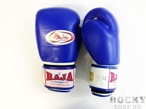 Перчатки боксерские тренировочные, липучка, 12 унций RajaБоксерские перчатки<br>Профессиональные перчатки. <br> Предназначены для более начальных боев Муай Тай или интернациональных боев. <br> Перчатки безупречно годятся для учебы.<br><br>Цвет: синий/белый