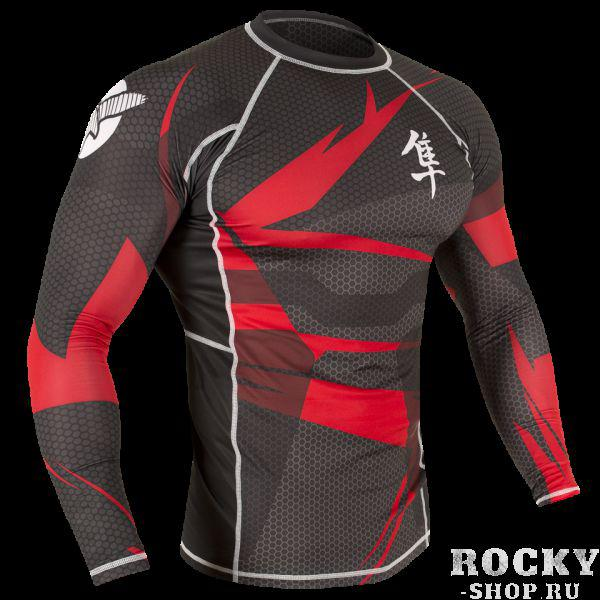Рашгард Hayabusa Metaru Rashguard L/S Black/Red