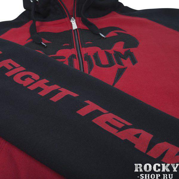 "Толстовка Venum VENUM ""PRO TEAM 2.0"" HOODY - BLACK/RED"