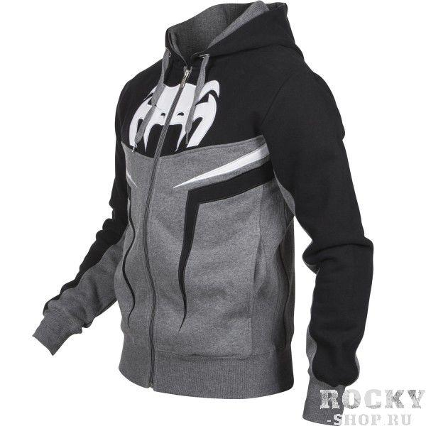 "Толстовка Venum VENUM ""SHOCKWAVE 3.0"" HOODY - GREY/BLACK"