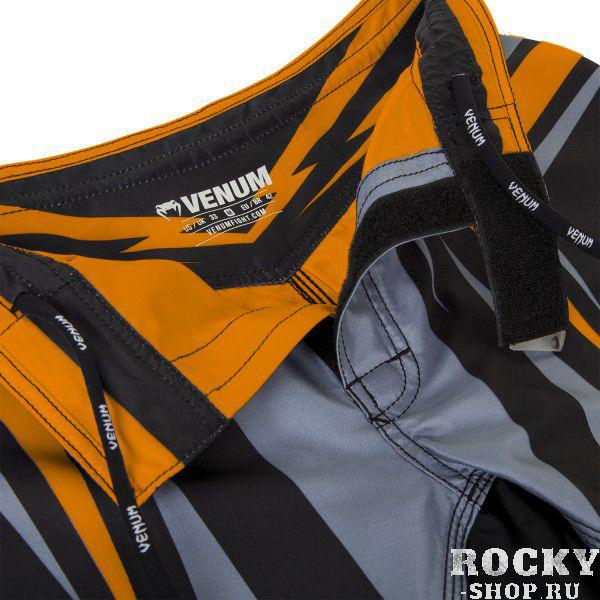 Шорты ММА Venum Sharp 2.0 Fight Shorts - Black/Orange