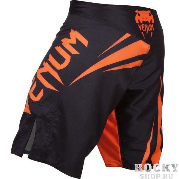 Шорты ММА Venum «Challenger» Fightshorts - Black/Neo Orange